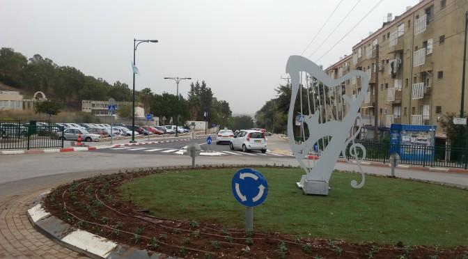 הכיכר ברחוב הירדן