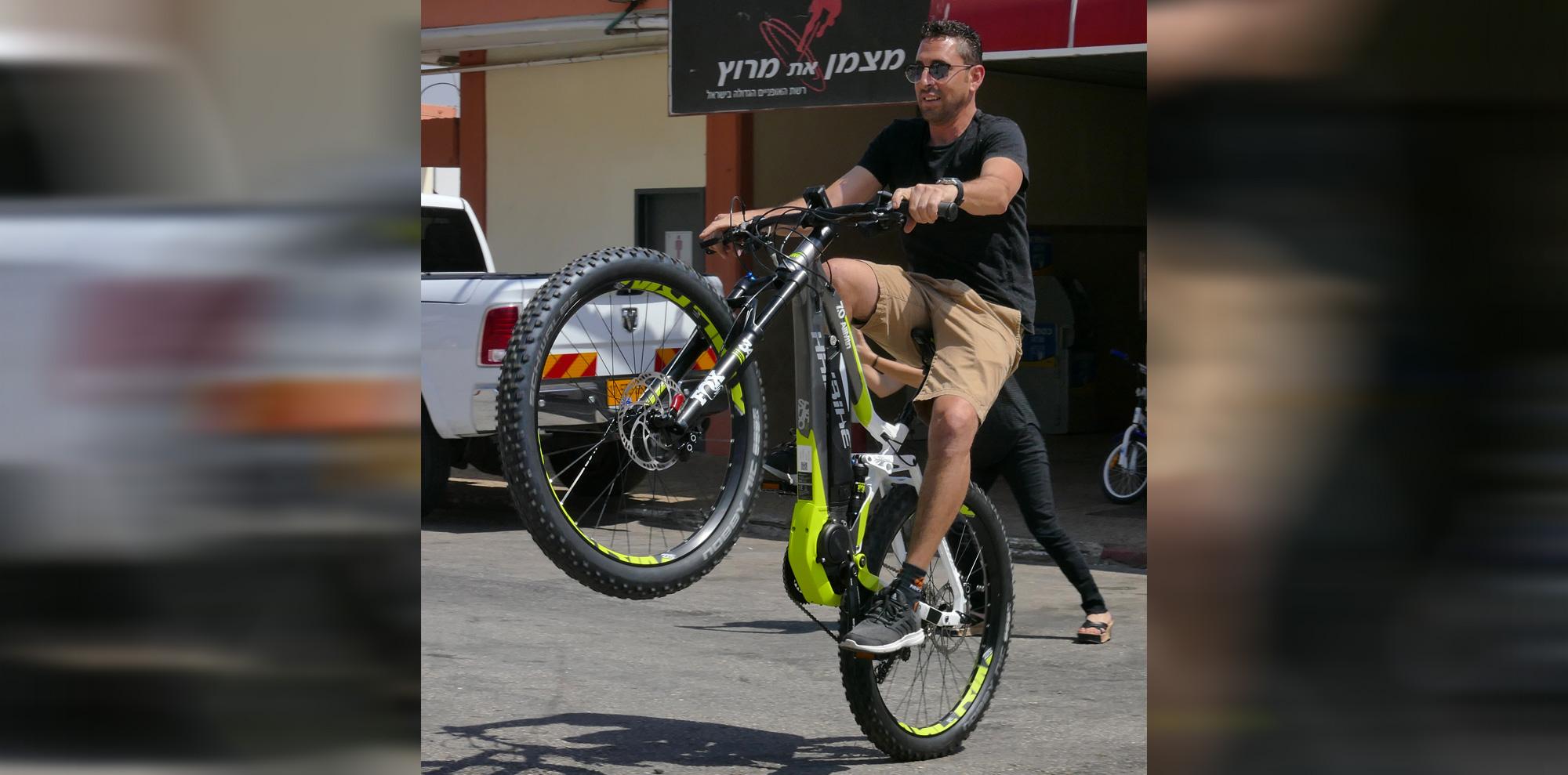 מוסרי אופניים קריית שמונה